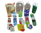 Spout pouch & cheer pack